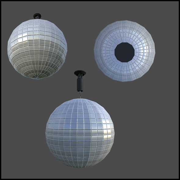 3DOcean Disco Ball 4342116