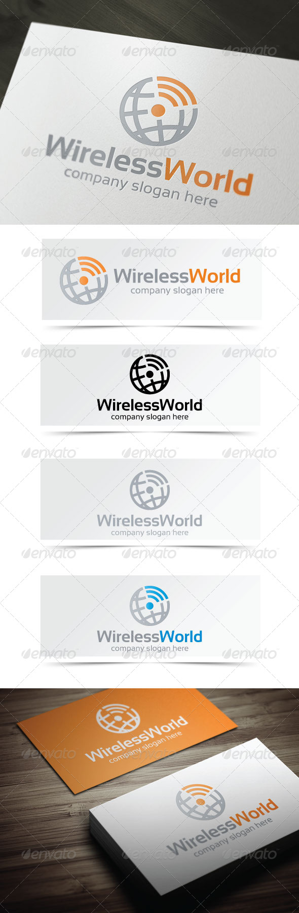 GraphicRiver Wireless World 4342737