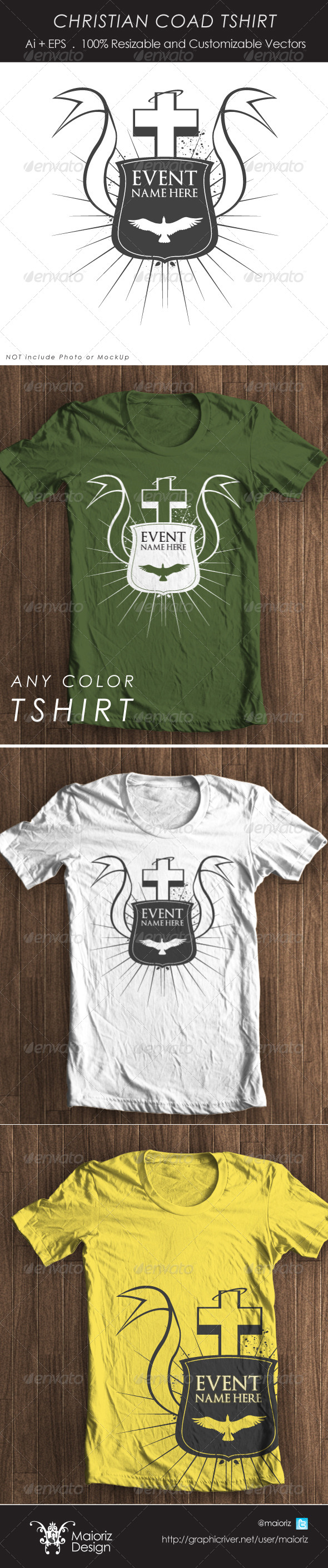 Christian Event Tshirt - Church T-Shirts