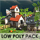 Low Poly Village Pack 50+ - 3DOcean Item for Sale