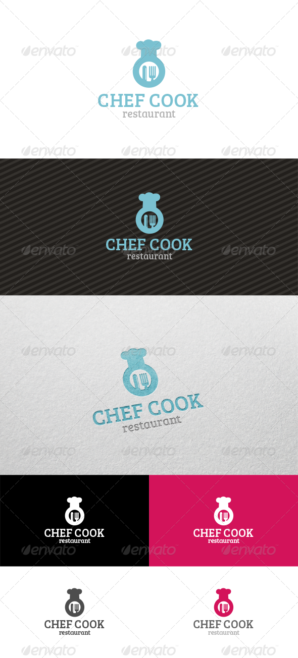 GraphicRiver Chef Cook Restaurant 4348714