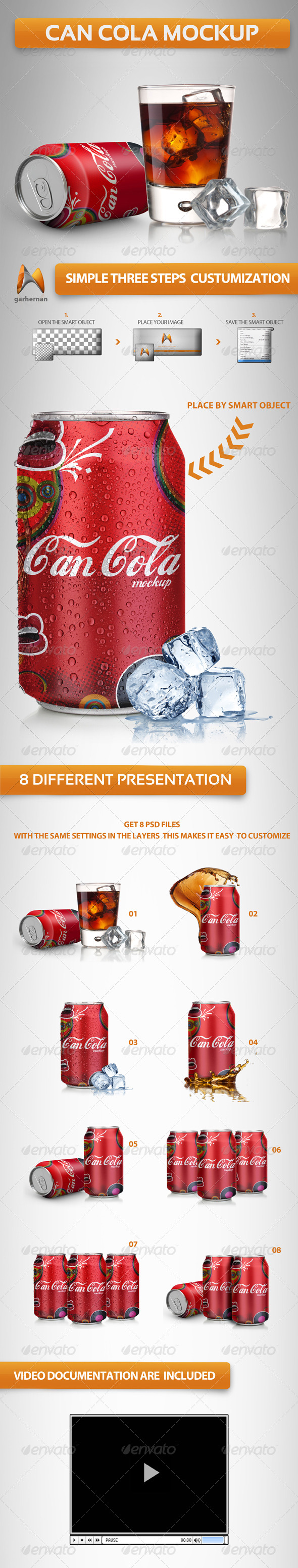 Can Soda Mockup - Miscellaneous Product Mock-Ups