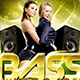 Bass Music Party Flyer - GraphicRiver Item for Sale