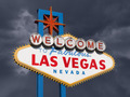 Las Vegas Sign with Stormy Sky - PhotoDune Item for Sale
