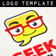 Geeks Lounge Logo Template - GraphicRiver Item for Sale