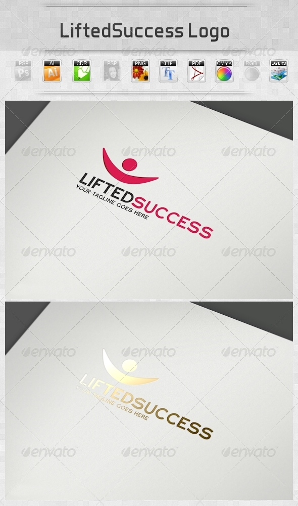 GraphicRiver LiftedSuccess Logo 4257172