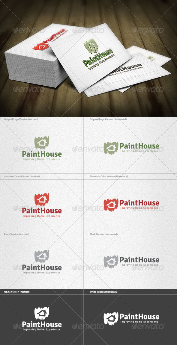 GraphicRiver Paint House Logo 4355139