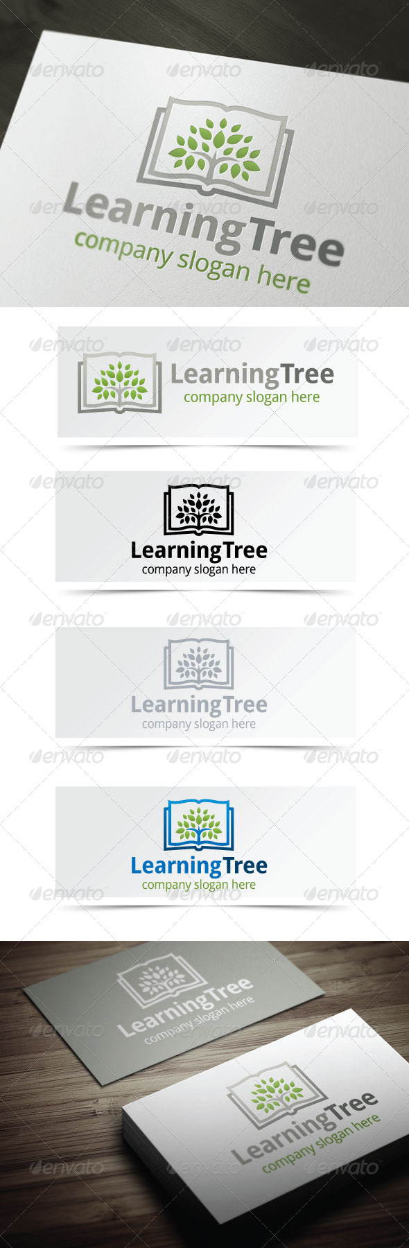 GraphicRiver Learning Tree 4355941