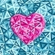 Pink Abstract Valentines Day Heart  - GraphicRiver Item for Sale