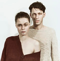 Studio portrait of a young man and woman - PhotoDune Item for Sale
