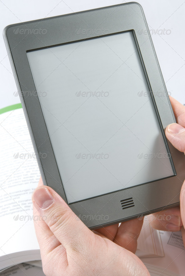 E-Book Reader  - Stock Photo - Images