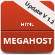 Mega Host - Retina and Responsive template - ThemeForest Item for Sale