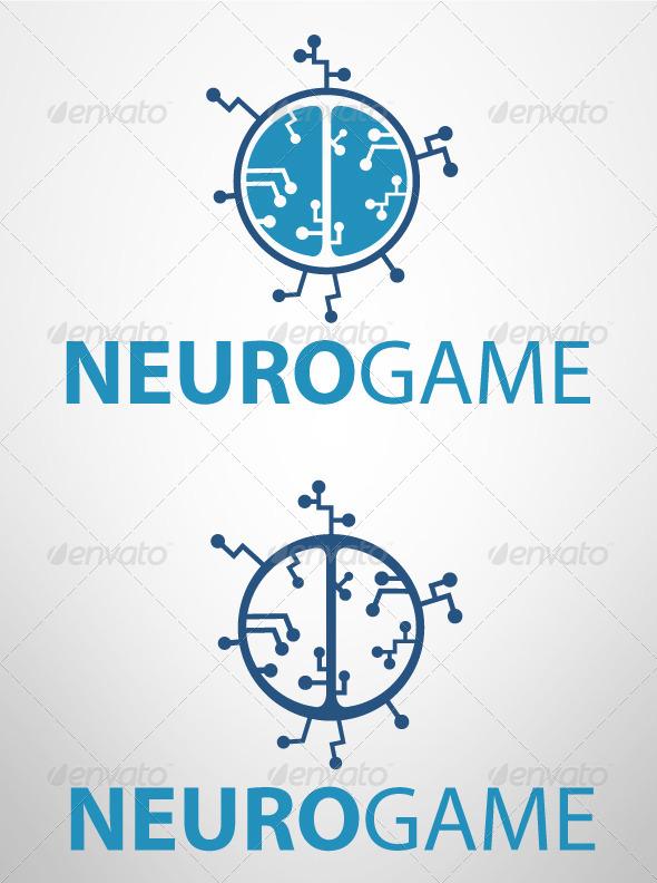 GraphicRiver NeuroGame Logo 3847189