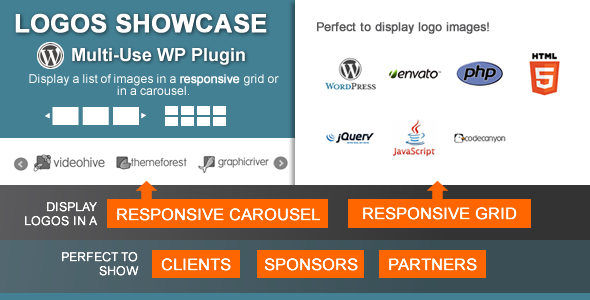 Logos Showcase - Multi-Use Responsive WP Plugin - CodeCanyon Item for Sale