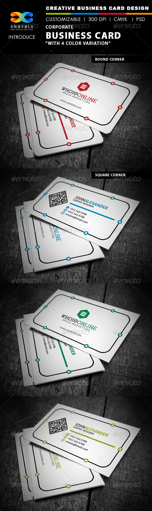 GraphicRiver Corporate Business Card 4362714