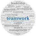 Teamwork concept in word tag cloud - PhotoDune Item for Sale