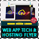 Web App Tech & Hosting Business Flyer - GraphicRiver Item for Sale