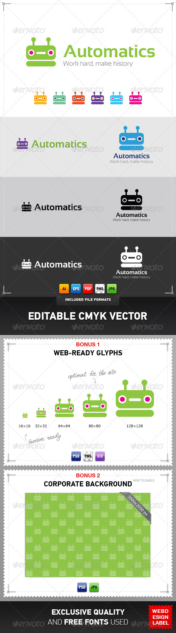 GraphicRiver Automatics Logo 4280493