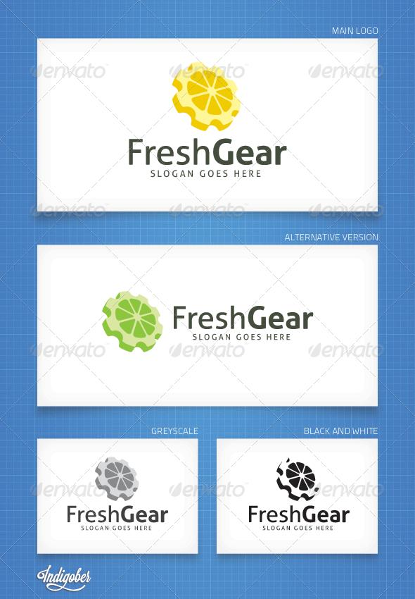 GraphicRiver FreshGear Logo Template 4365430