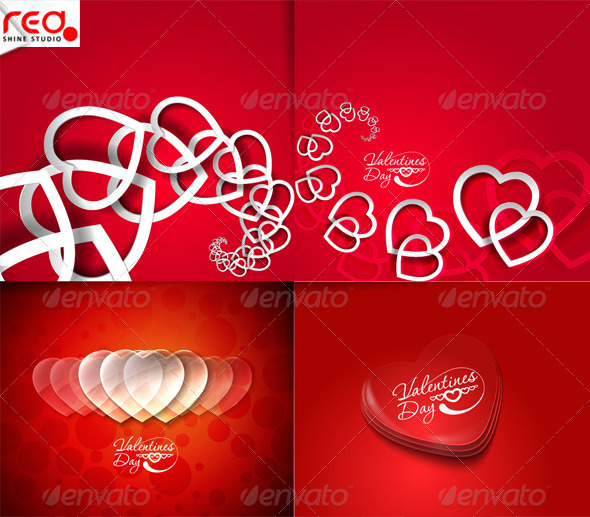 GraphicRiver Valentines Day Hearts 1 4365728