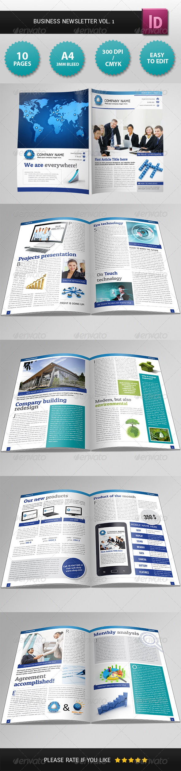 GraphicRiver Business Newsletter Vol 1 4248897