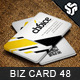 Business Card Design 48 - GraphicRiver Item for Sale