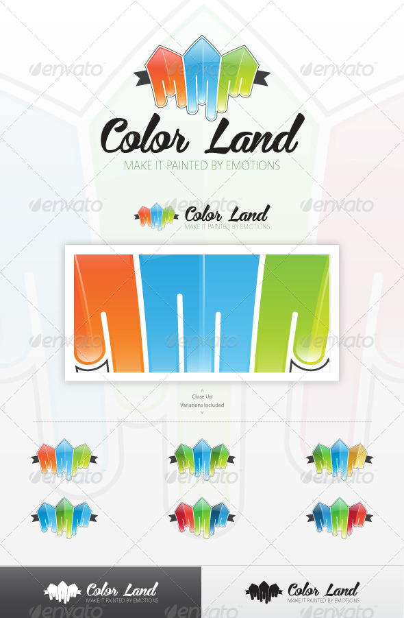 GraphicRiver Color City Logo 4186672