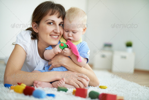 Happy mother - Stock Photo - Images