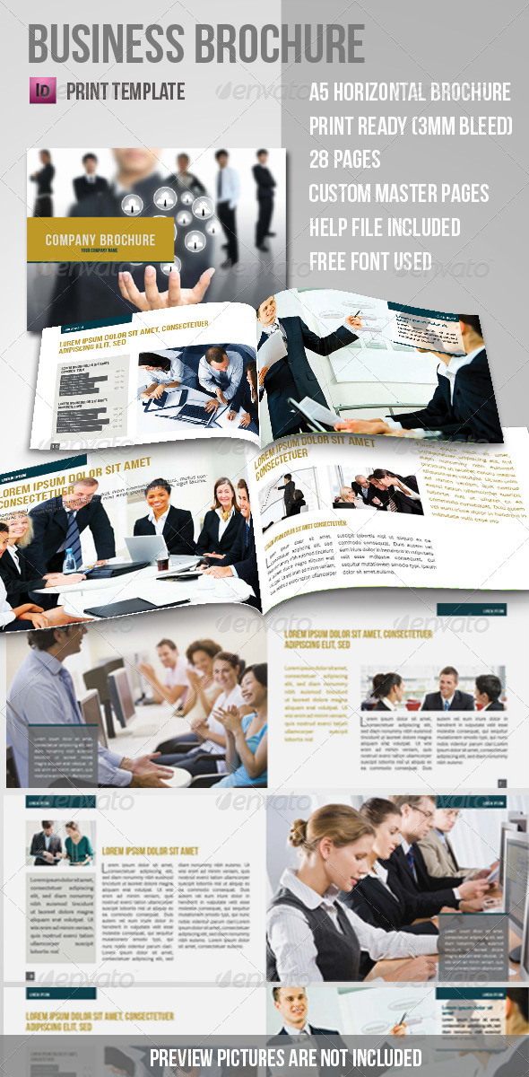 GraphicRiver Business Brochure 4270113