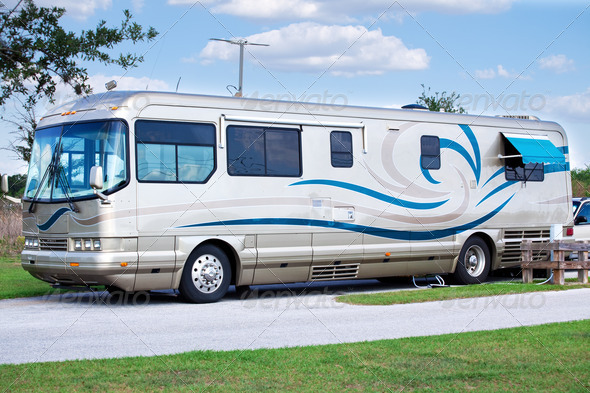 PhotoDune Luxury Motor Home 469284