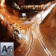 Urban Traffic Night Timelapse - VideoHive Item for Sale