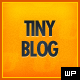 tinyBlog - WordPress Tumblog Theme - ThemeForest Item for Sale