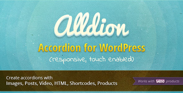 Alldion - Responsive accordion for WordPress - CodeCanyon Item for Sale