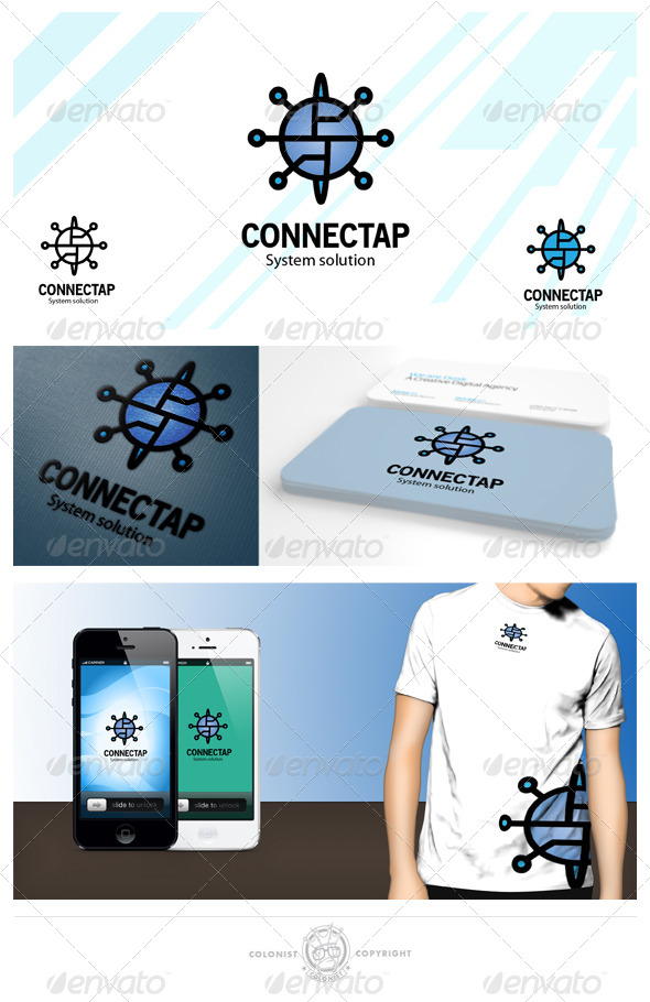 GraphicRiver connectap Logo 4375308