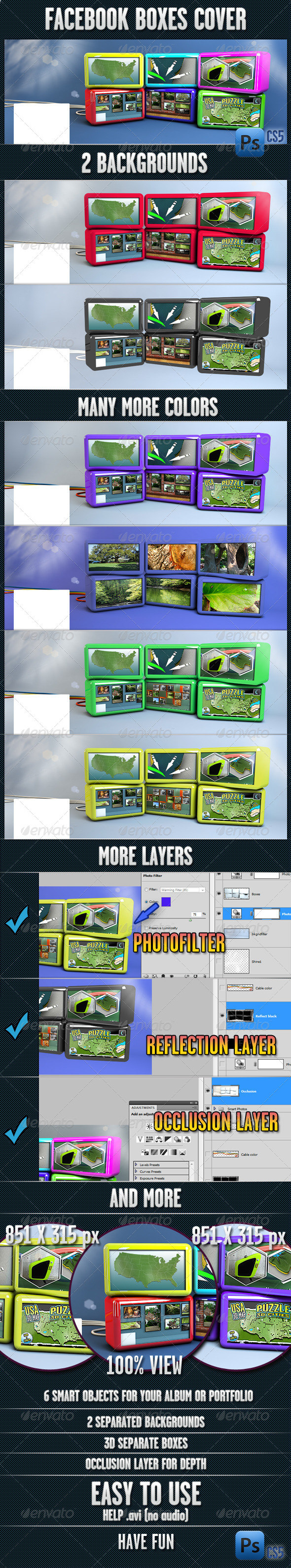 GraphicRiver Facebook Box Cover 4309555