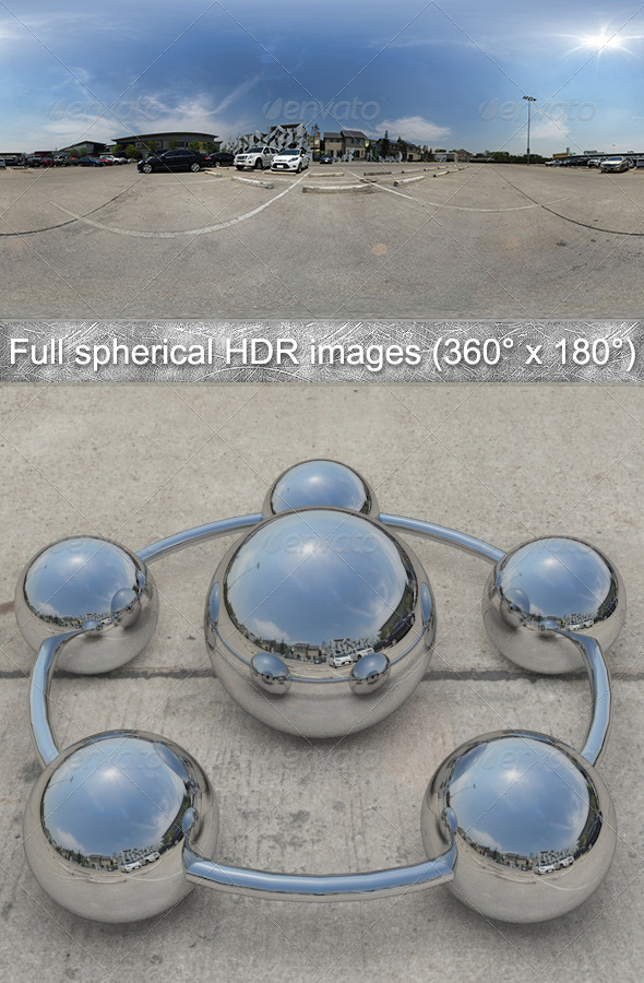 3DOcean Parking Full spherical HDR images 360Ўг x 180Ўг 4379184