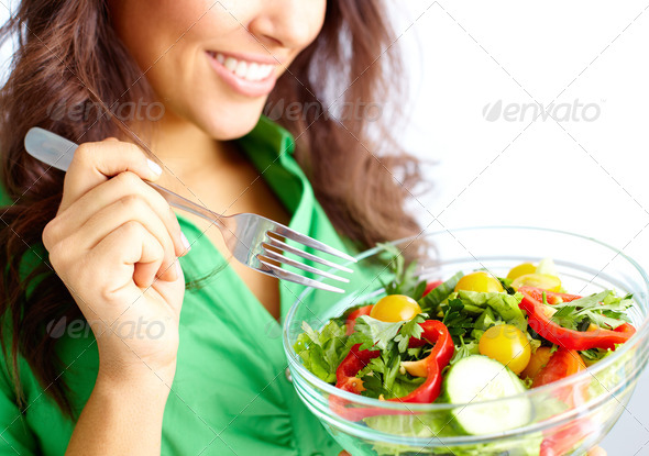 On a diet - Stock Photo - Images