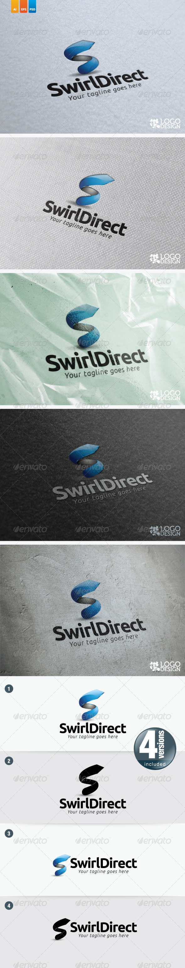Swirl Direct - Symbols Logo Templates