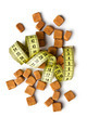 brown sugar cubes and measuring tape - PhotoDune Item for Sale