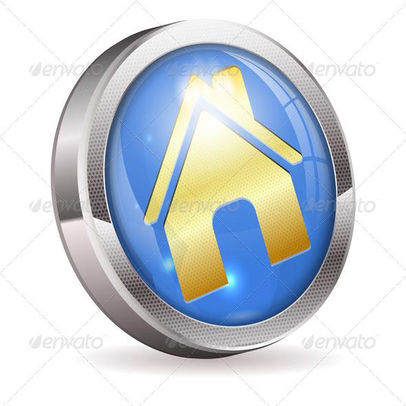 GraphicRiver Button Home 4382668
