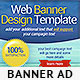 Web Banner Design Template - GraphicRiver Item for Sale
