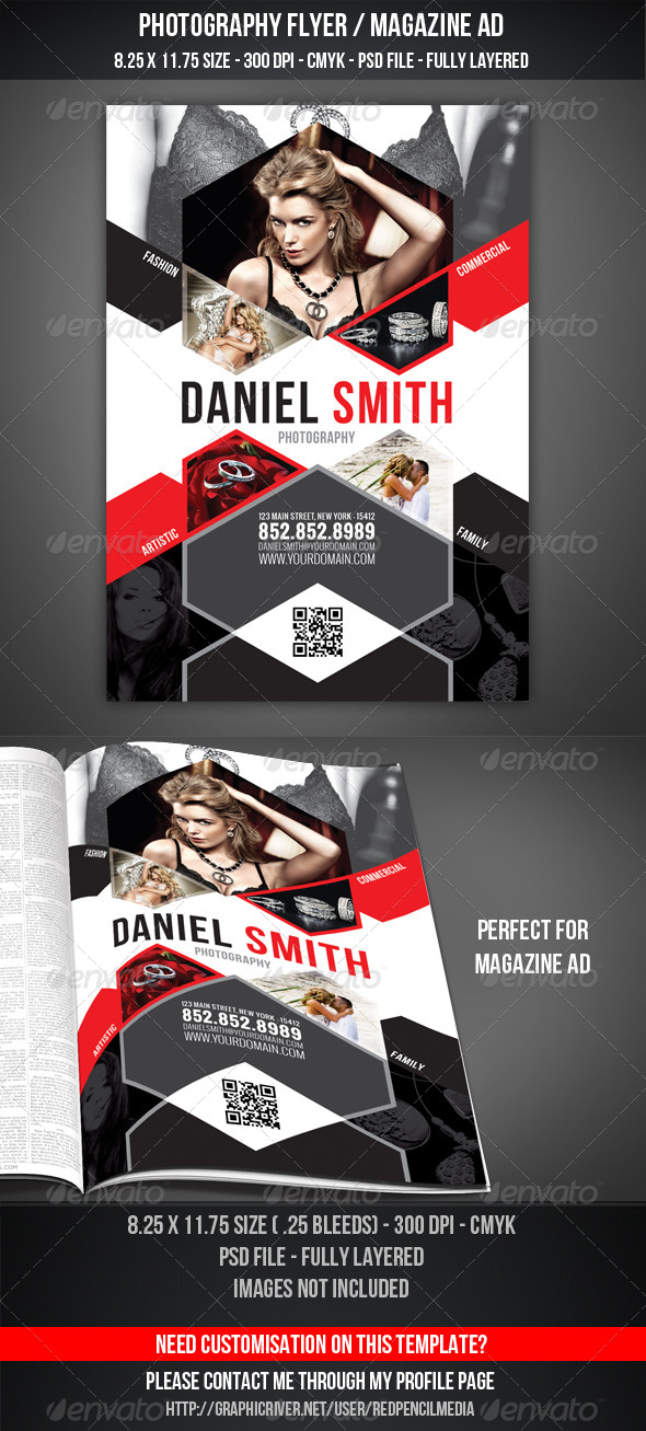 GraphicRiver Photography Flyer Magazine AD 4278948