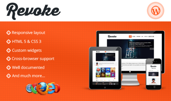 ThemeForest Revoke Responsive WordPress Theme 4349687