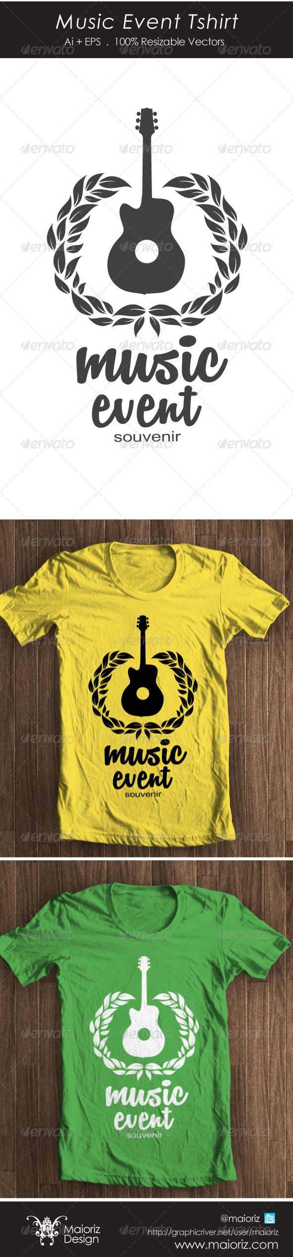 GraphicRiver Music Event Tshirt 4385115