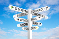 Weather Signpost - PhotoDune Item for Sale