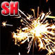 Sparklers At Night - VideoHive Item for Sale