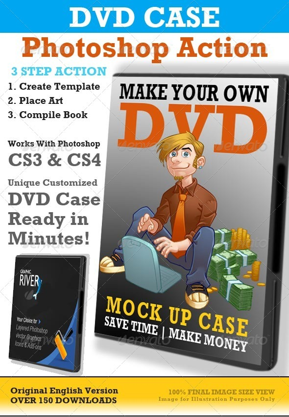 DVD Case Action