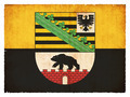 Grunge flag of Saxony-Anhalt (Germany) - PhotoDune Item for Sale