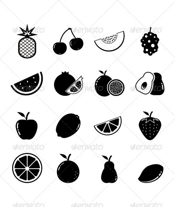 GraphicRiver Fruit Icon 4389356