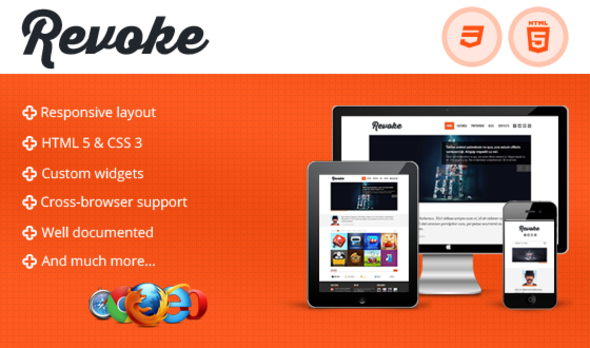 ThemeForest Revoke Responsive HTML Theme 4391640